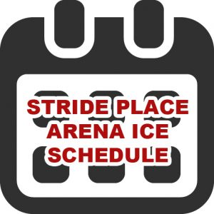 stride place ice schedule button