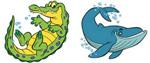 croc whale icon