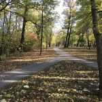 island park walking paths