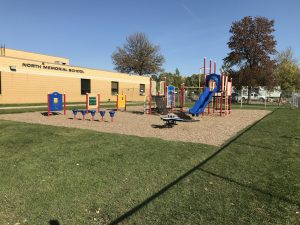 North memorial school playground