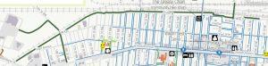 northside portage walking map
