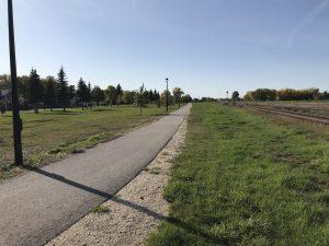 north walking path