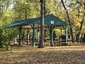 island picnic shelter