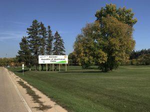 rotary republic park sign
