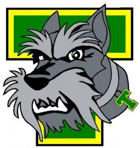 portage terriers logo